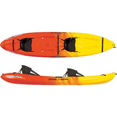 Malibu Tandem Sit-On-Top Dog Kayak by Ocean Kayak